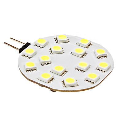 Buy 3W G4 LED Bi-pin Lights 15 SMD 5050 210 lm Natural White DC 12 V