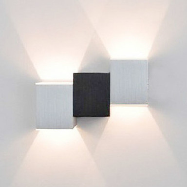 AC 85-265 2 LED Integrated Modern/Contemporary Painting Feature for LED Mini Style Bulb Included,Ambient Light Flush Mount wall Lights