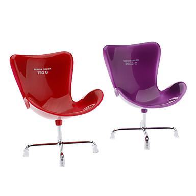 Chaise en forme de m tal color le stockage de bureau en plastique coul - Chaise plastique couleur ...