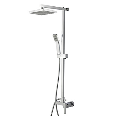 Buy Contemporary Shower Faucet 8 inch Head + Hand
