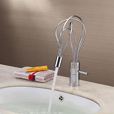 home garden faucets bathroom sink faucets led faucets