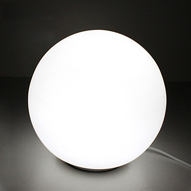 Moderne contemporain creative boule ronde blanche table for Lampe de chevet moderne