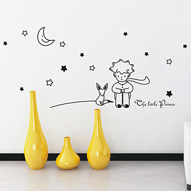 Cartoon little prince wall stickers 740000 2016 Decoration le petit prince