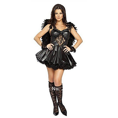 black lace sexy eagle dress women 39 s halloween costume 765441 2016. Black Bedroom Furniture Sets. Home Design Ideas