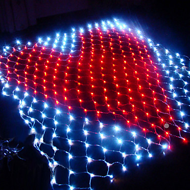 Led net light christmas halloween decoration for 160 net christmas decoration lights clear