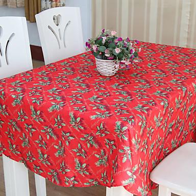 Kjøp juleduk i rød polyester på nett i nettbutikk