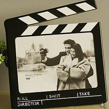 """10""""H Contemporary Style Filmstrip Table Top Picture Frame"""