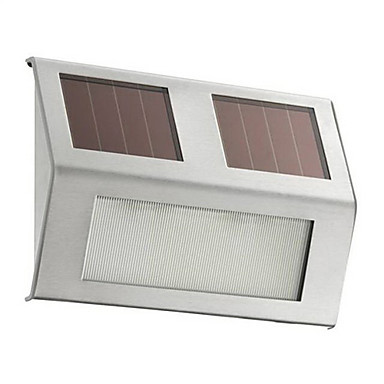 1 PcLED Solar Powered Step Light For Outdoor Using CIS 57137A 1045126 2016