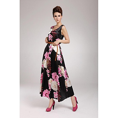 Vestido floral vintage