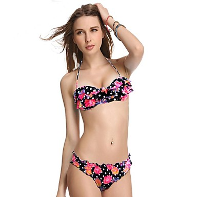 VBM Marca Mujeres Imprimir Bikinis Traje de baño caliente ...