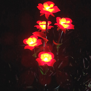 Led solaire lumi re de pelouse jardin lumi re fleur de Lumiere led jardin
