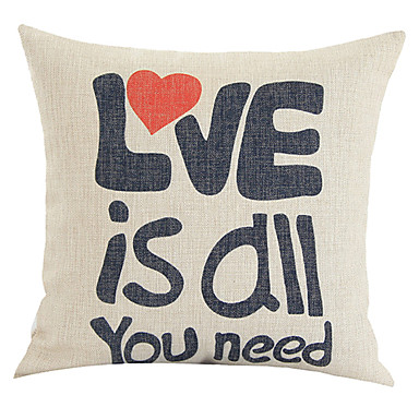 Cotton/Linen Pillow Cover , Quotes & Sayings Country 1338370 2016 ? $12.99