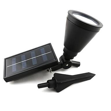 4 led outdoor solar power spotlight landscape spot light garden lawn flood lamp 1466720 2017. Black Bedroom Furniture Sets. Home Design Ideas