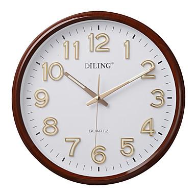 12 n meros rabes modernos reloj de pared del pvc marco - Relojes de pared modernos ...