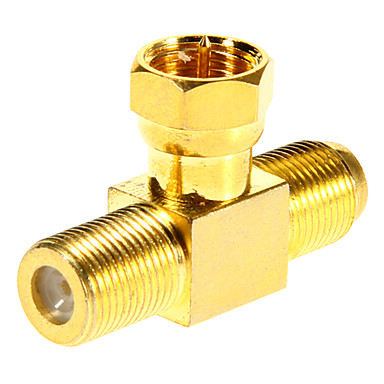Buy F Male 2F Female Adapter