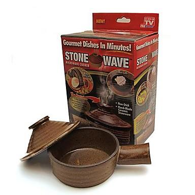 Onda piedra horno de microondas antiadherente serie de - Utencillos de cocina ...