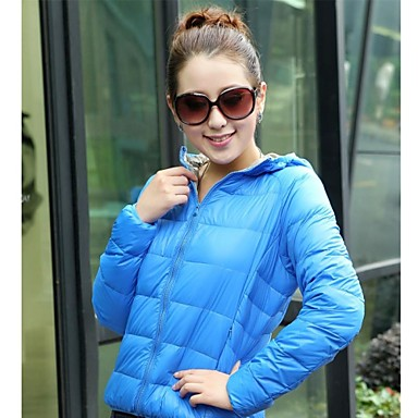 Buy Women's Woman's Jacket / Winter Tops Snowsports Thermal Warm Lightweight Materials Spring Fall/Autumn WinterS M L
