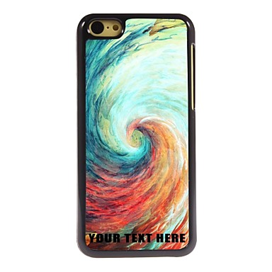 Buy Personalized Phone Case - Vortex Design Metal iPhone 5C