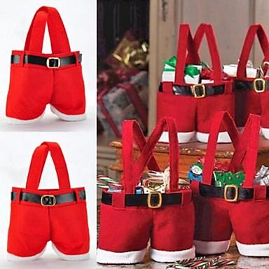22*15CM Santa Pants Candy Bags