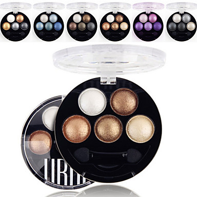5 Colors UBUB Eyeshadow Palette Professional Baked 3in1 ...