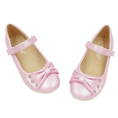 Meisje ronde teen platte schoenen roze wit brons 2671282 2017 - Kleine teen indelingen meisje ...