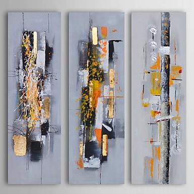 pintura al leo moderna caos mbar abstracto encontrar conjunto de lienzos pintados 3 a mano con. Black Bedroom Furniture Sets. Home Design Ideas