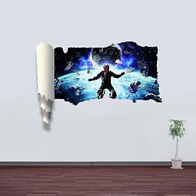 Paesaggio forma fantasia adesivi murali adesivi 3d da for Foto murali 3d