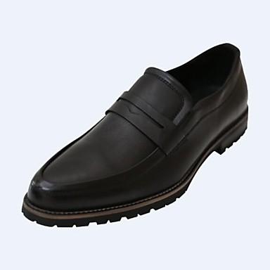 chaussures hommes bureau travail d contract noir marron acajou faux cuir mocassins de. Black Bedroom Furniture Sets. Home Design Ideas