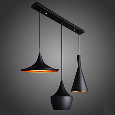 60w streamlined pendant light in black 2881309 2017 for Deckenlampe lang