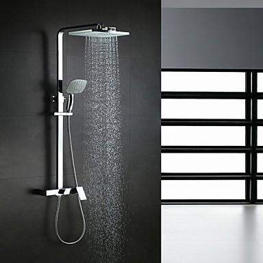 Contempor neo sistema ducha cascada ducha lluvia for Manija para ducha