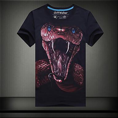 T Shirt Uomo Casual Da Ufficio Formale Attivit Sportive