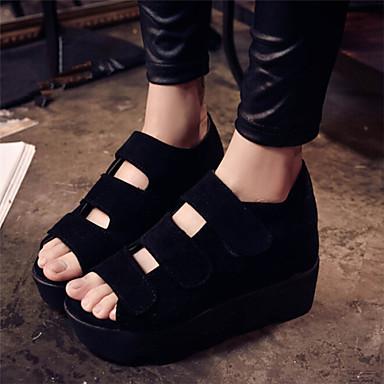 s shoes wedge heel peep toe sandals dress black