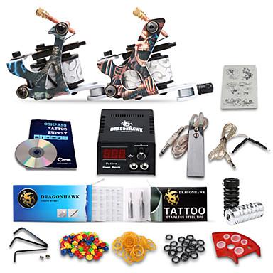 Dragonhawk starter tattoo kit 2 machines 3071579 2016 for Starter tattoo kits