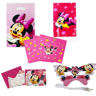 75pcs minnie mouse cumplea os del beb decoraci n - Decoracion de cumpleanos para ninos ...