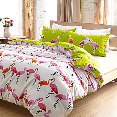 100% Cotton Flamingo Duvet Cover Sets