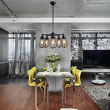 Lampadari maishang® mini stile rustico / lodge / retro soggiorno ...