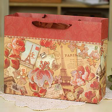 sacoches cadeaux orange papier durci mariage comm moration f te pr nuptiale f te de. Black Bedroom Furniture Sets. Home Design Ideas