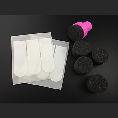5pcs clou ponge pour gradient art couleur des ongles conseils lignes 96pcs ongles de peinture. Black Bedroom Furniture Sets. Home Design Ideas