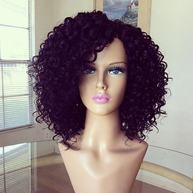 glueless full lace wig 100 brazilian human hair wig kinky