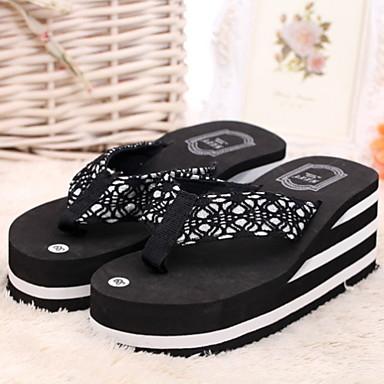 hayoha 2015 zomer vrouwen sandalen platform slippers schoenen strand slippers toevallige. Black Bedroom Furniture Sets. Home Design Ideas