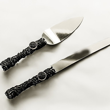 Serving Sets Wedding Cake Knife Accessories Handle Cake Knife And