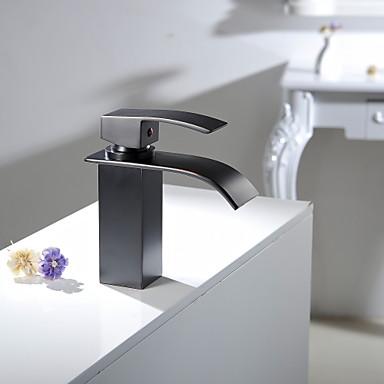 bronze huil cascade salle de bains cuve d 39 vier robinet de lavabo vanit mitigeur lavabo. Black Bedroom Furniture Sets. Home Design Ideas