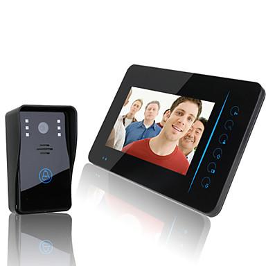 "ENNIO 2.4G 7"" TFT Wireless Video Door Phone Intercom ..."