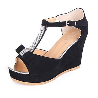 Zapatos de mujer semicuero tac n cu a cu as sandalias - Zapatos de trabajo ...