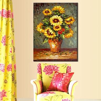 pitture a olio un pannello di fiori moderna tele dipinte a mano pronta per essere appesa del ...