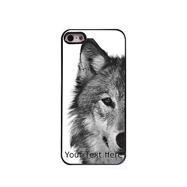 Buy Personalized Gift Wolf Design Aluminum Hard Case iPhone 4/4S