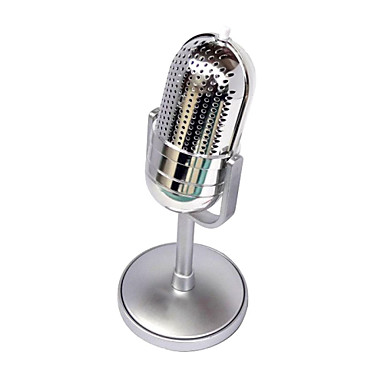 classique r tro conception filaire st r o microphone de l 39 ordinateur avec support pour. Black Bedroom Furniture Sets. Home Design Ideas