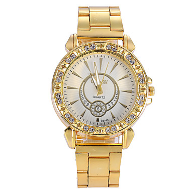watches gold fashion alloy