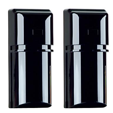 Buy 100m Dustproof Active Infrared 8 Frequencies Photoelectric Beam Detector 2 Beams