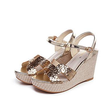 s shoes glitter wedge heel wedges sandals outdoor